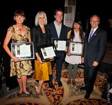 WAC Arts Award Winners for 2012